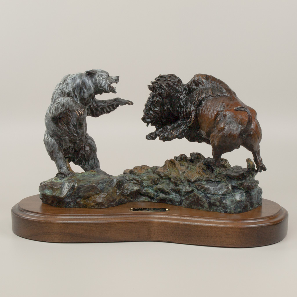 Bear And Bull by Jay Contway