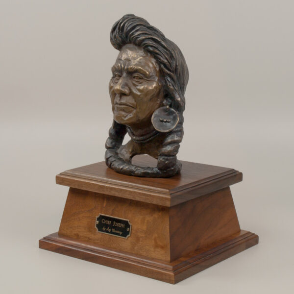 Chief Joseph Bust by Jay Contway