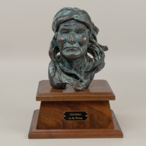 Geronimo Bust by Jay Contway