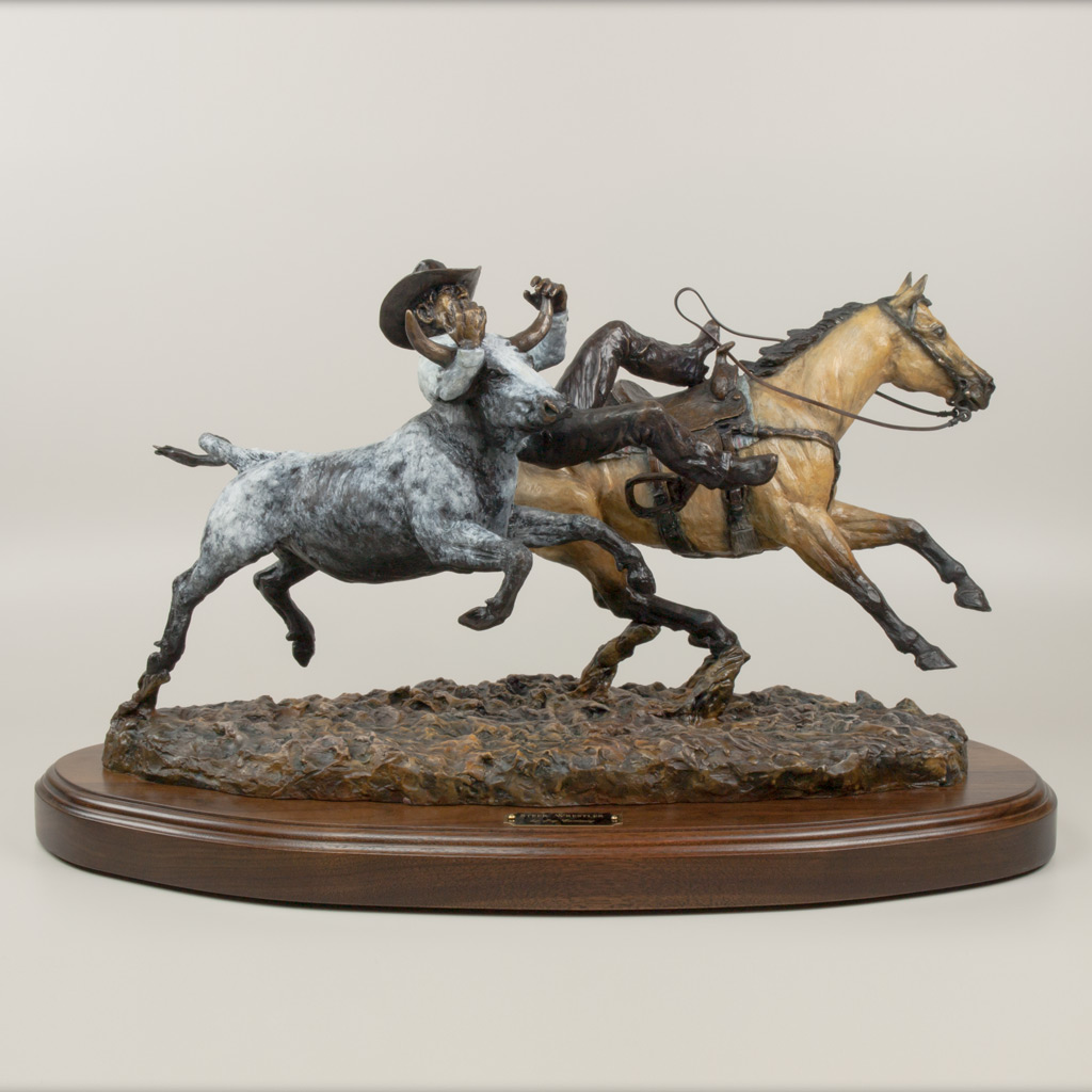 Steer Wrestler by Jay Contway