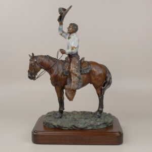 Guy Weadick Horseback by Jay Contway