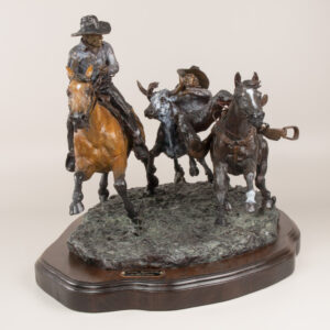 Steer Wrestler 2007 by Jay Contway