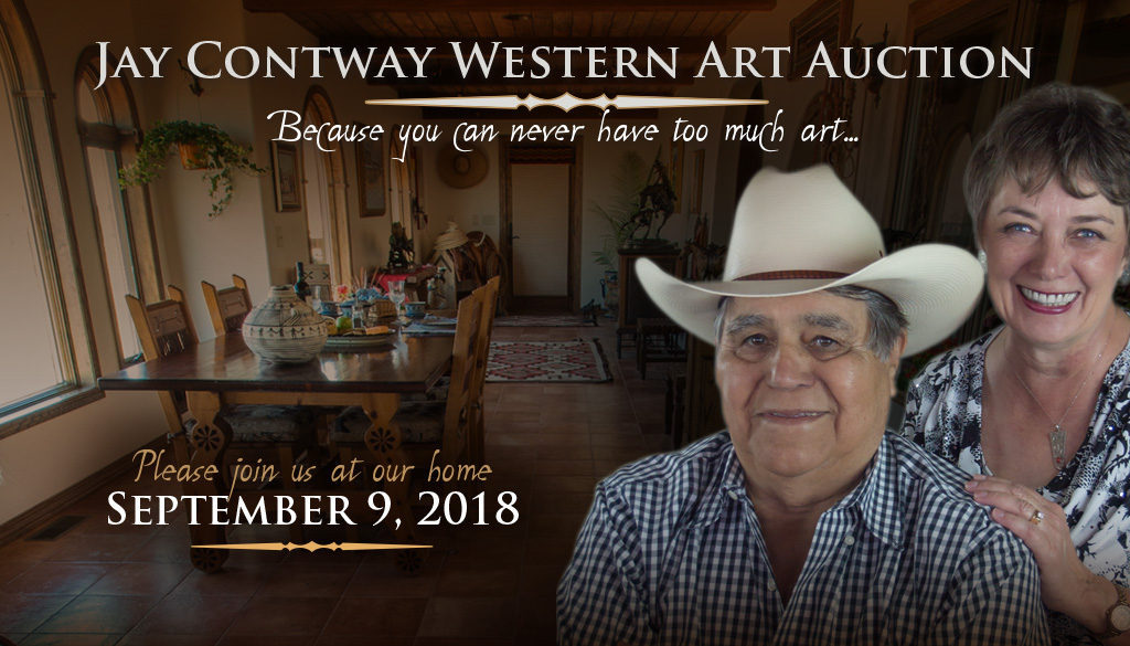 The 2018 Jay Contway Western Art Auction