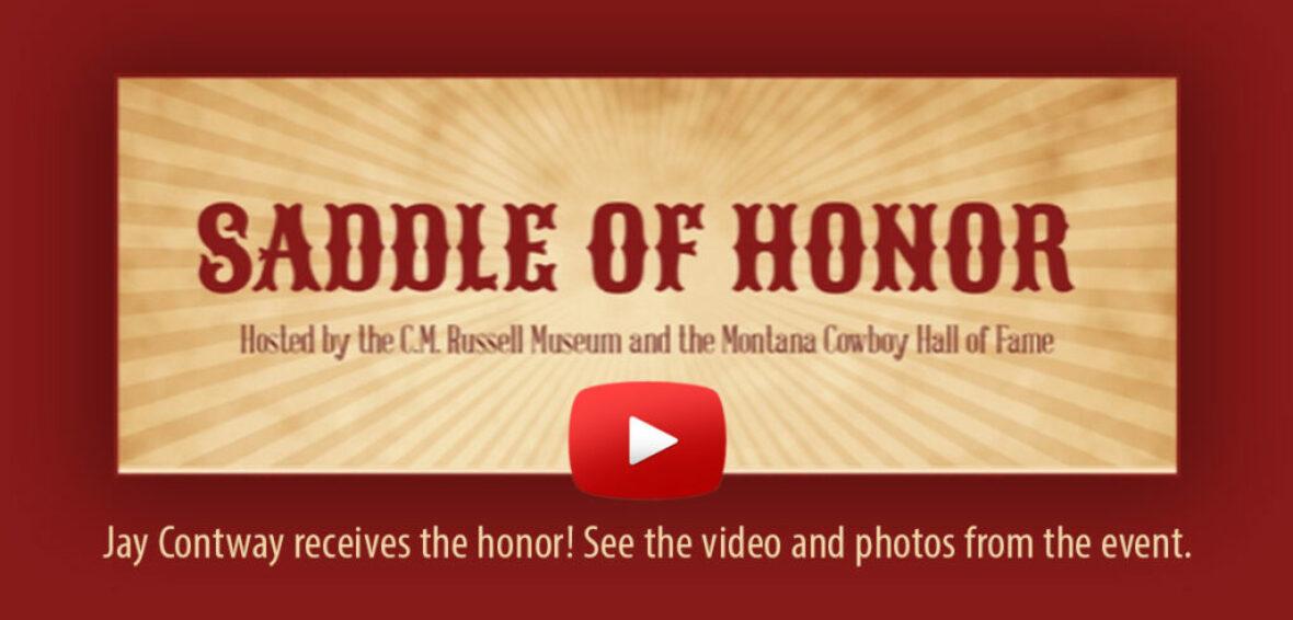 2019 Saddle of Honor Award - Jay Contway